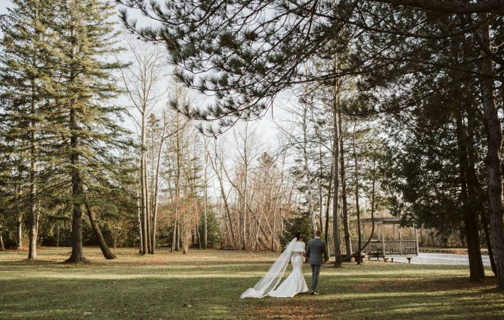 A beautiful fall wedding at Holland Marsh Wineries in Newmarket, Ontario